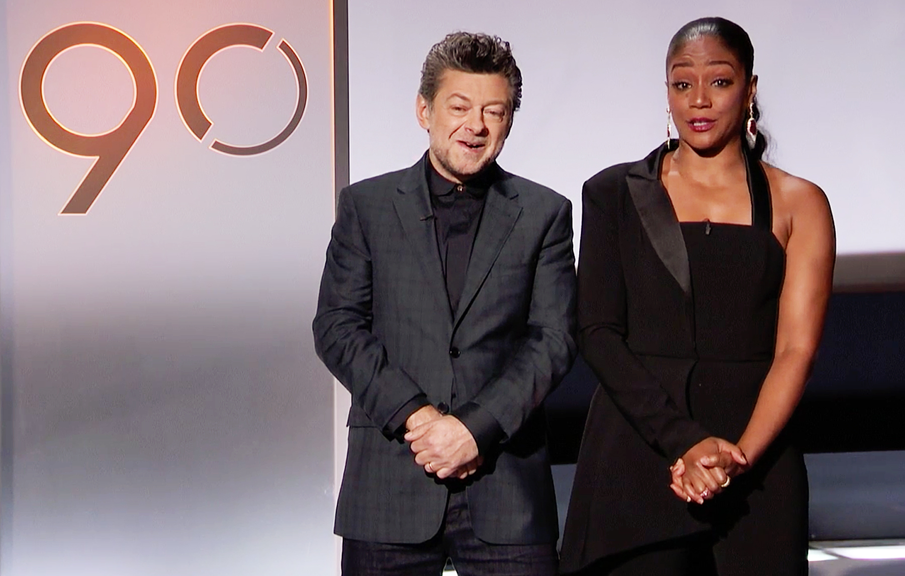 Andy Serkis Tiffany Haddish 2018 Oscar Nominations