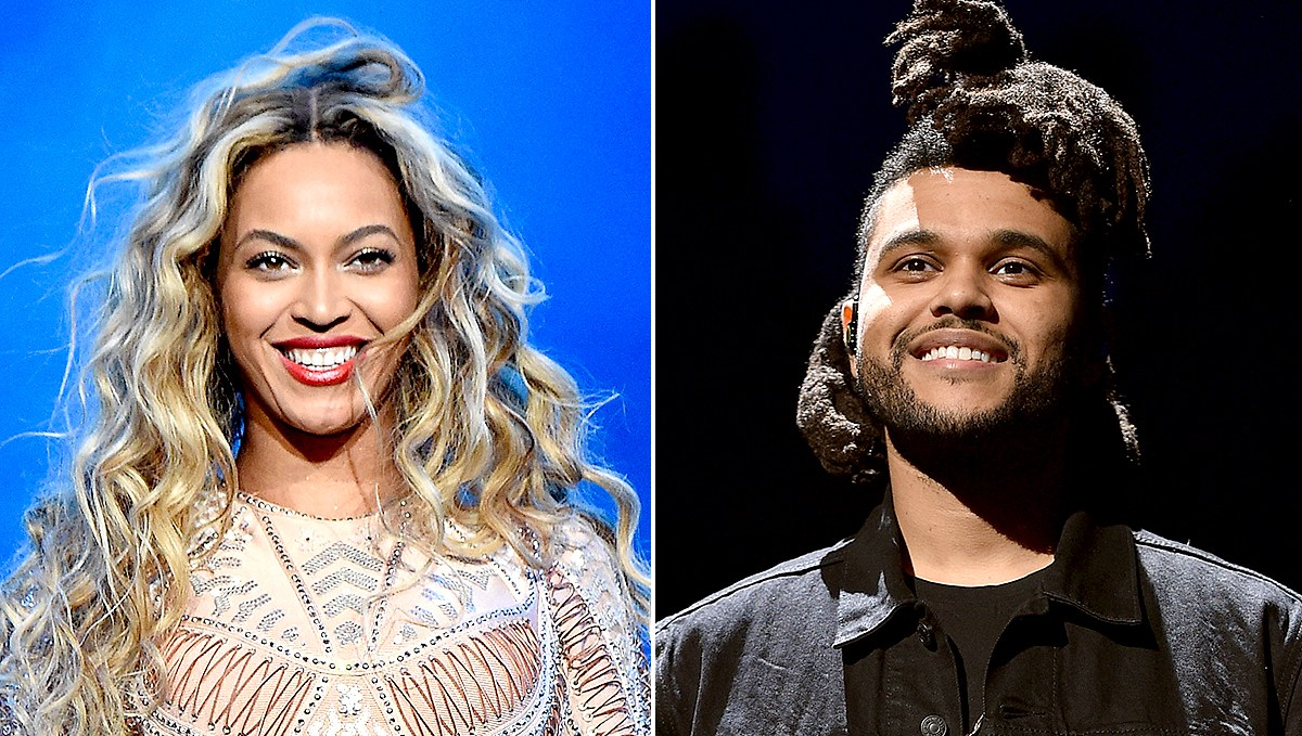 Beyonce and The Weeknd Coachella