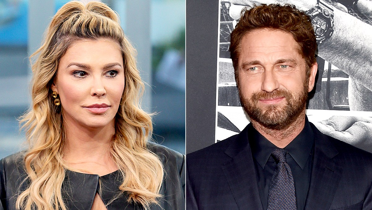 Brandi Glanville and Gerard Butler