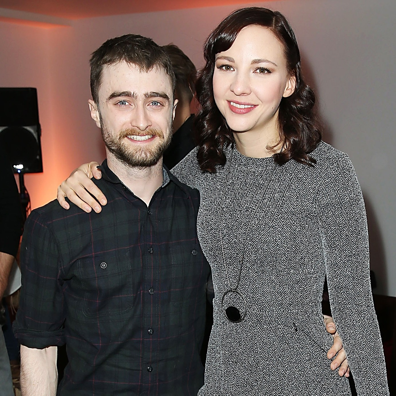 Daniel Radcliffe beard girlfriend