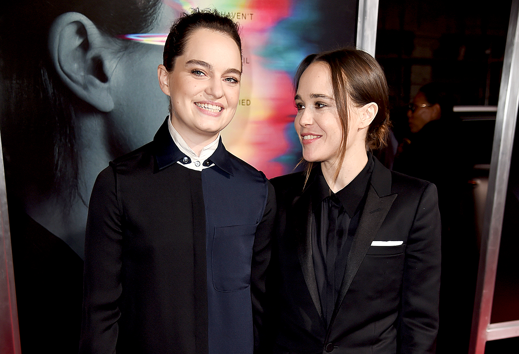 Ellen Page and Emma Portner tie the knot