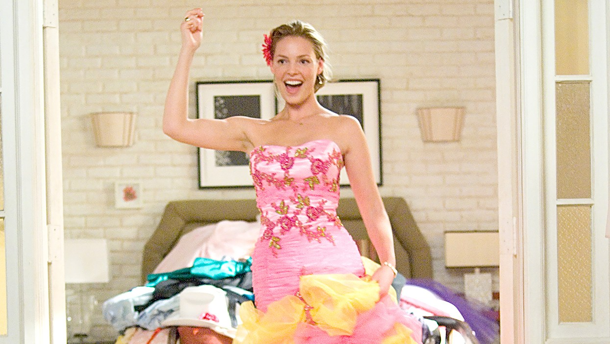 Katherine Heigl in 27 Dresses.