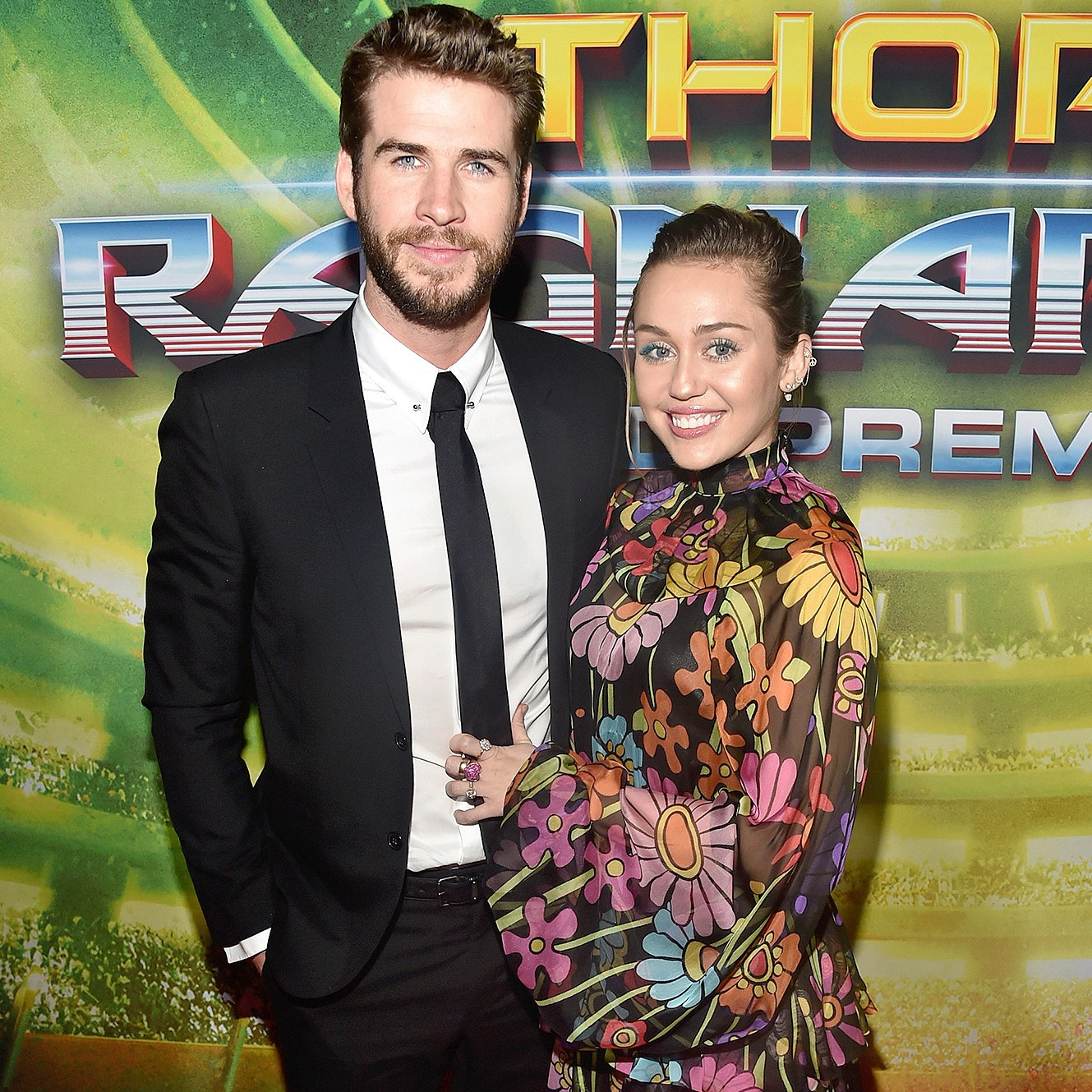 Liam Hemsworth, Miley Cyrus, Birthday, Instagram