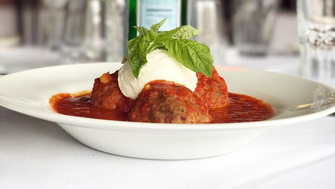 Mamma Giuseppina meatballs