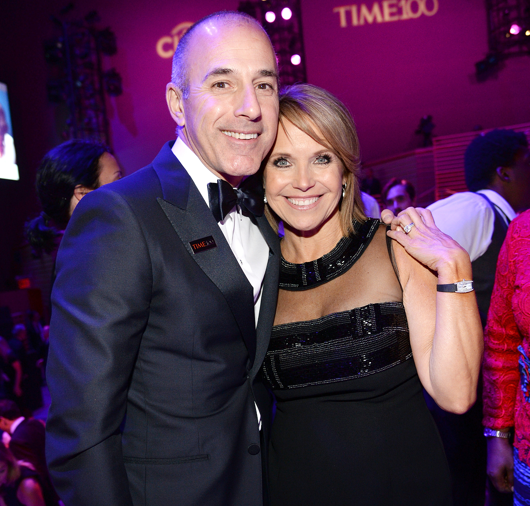 Katie Couric breaks silence on Matt Lauer