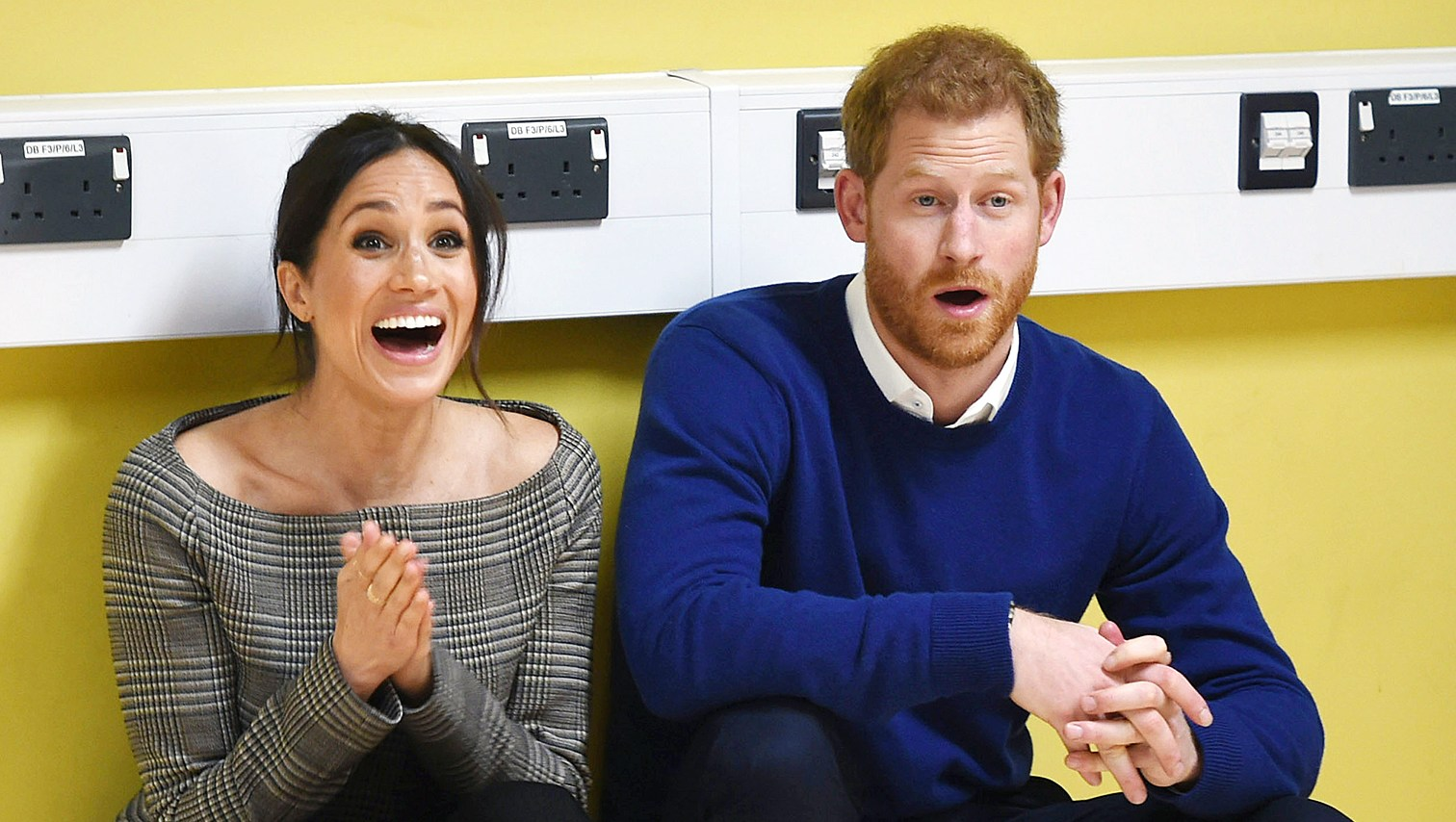 Prince Harry Meghan Markle street dance class children Cardiff