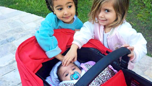North West, Penelope Disick and Dream Kardashian