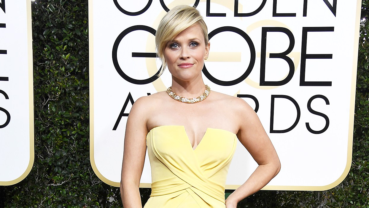 Reese Witherspoon Hottest Accessory Time's Up pin