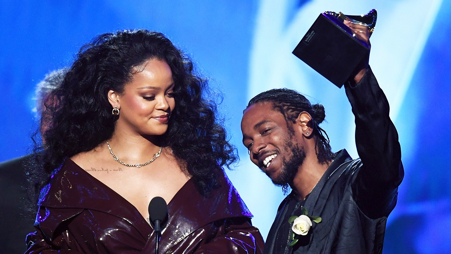Rihanna Kendrick Lamar Best Rap Sung Performance winner
