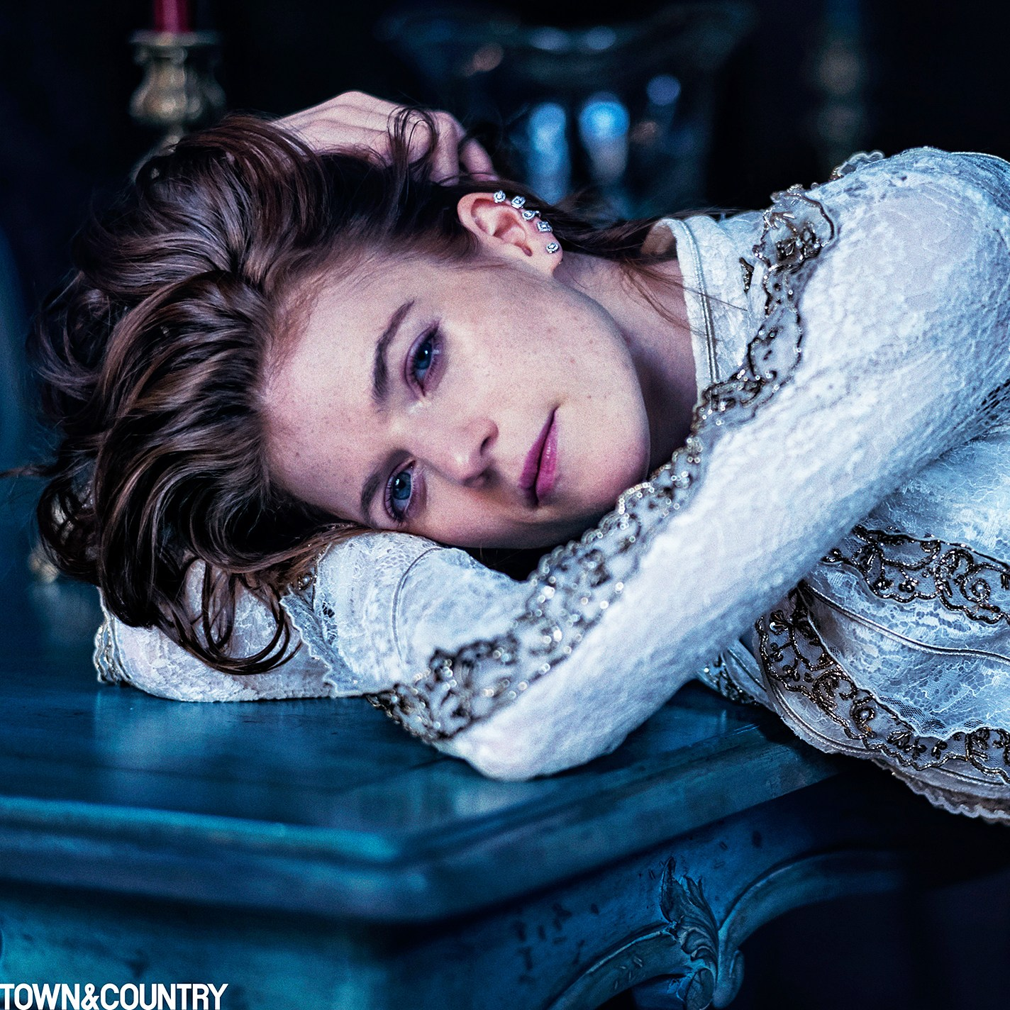 Rose Leslie Town & Country