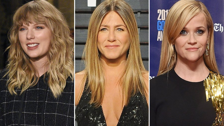Taylor Swift, Jennifer Aniston, Reese Witherspoon, Hollywood, Black, Golden Globes, Sexual Misconduct
