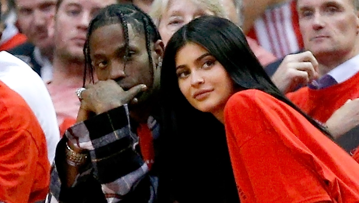 Image result for TRAVIS SCOTT WANTS PEOPLE TO KEEP FISHING FOR INFO ON KYLIE JENNER'S PREGNANCY