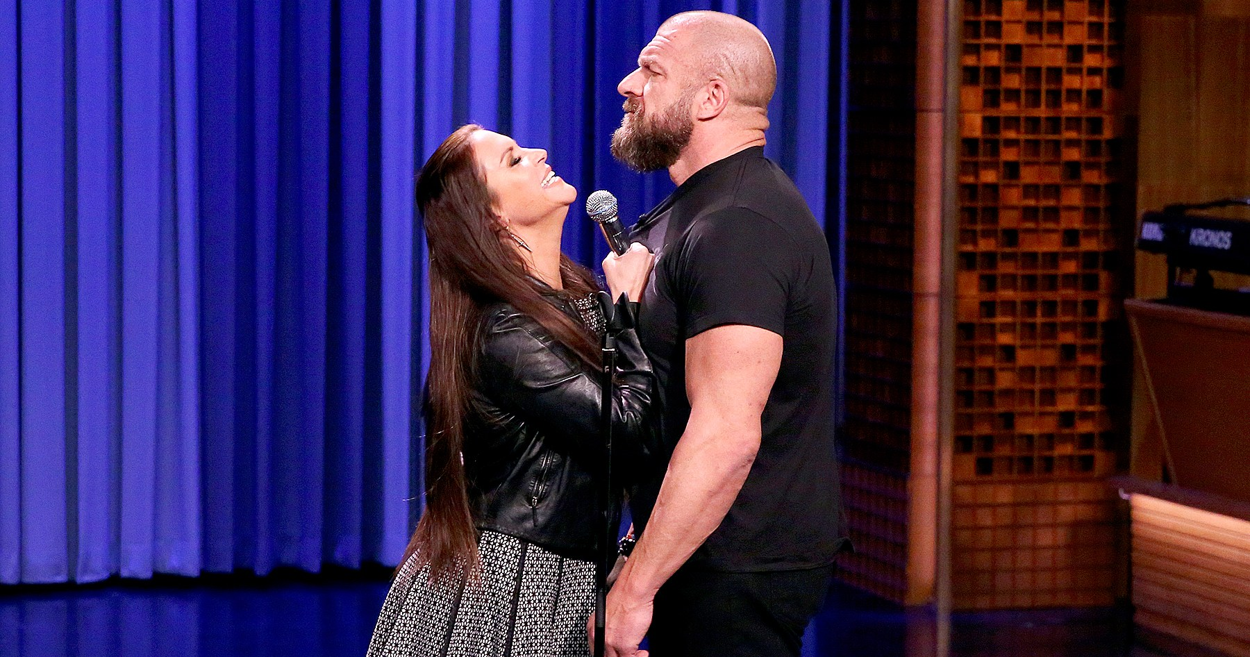 Triple H, Stephanie McMahon Make It a Duet With 'Moana' Song