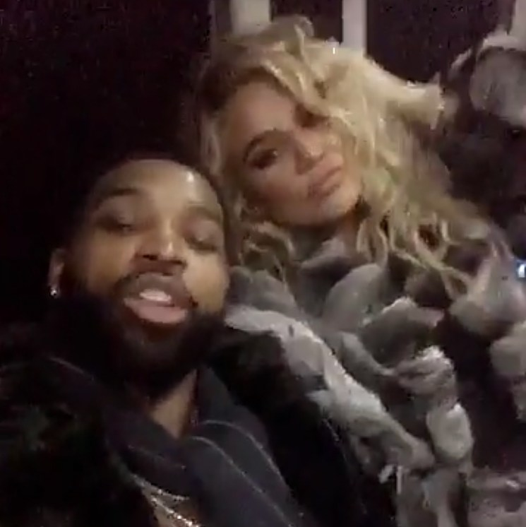 Tristan Thompson Khloe Kardashian New Year's Eve