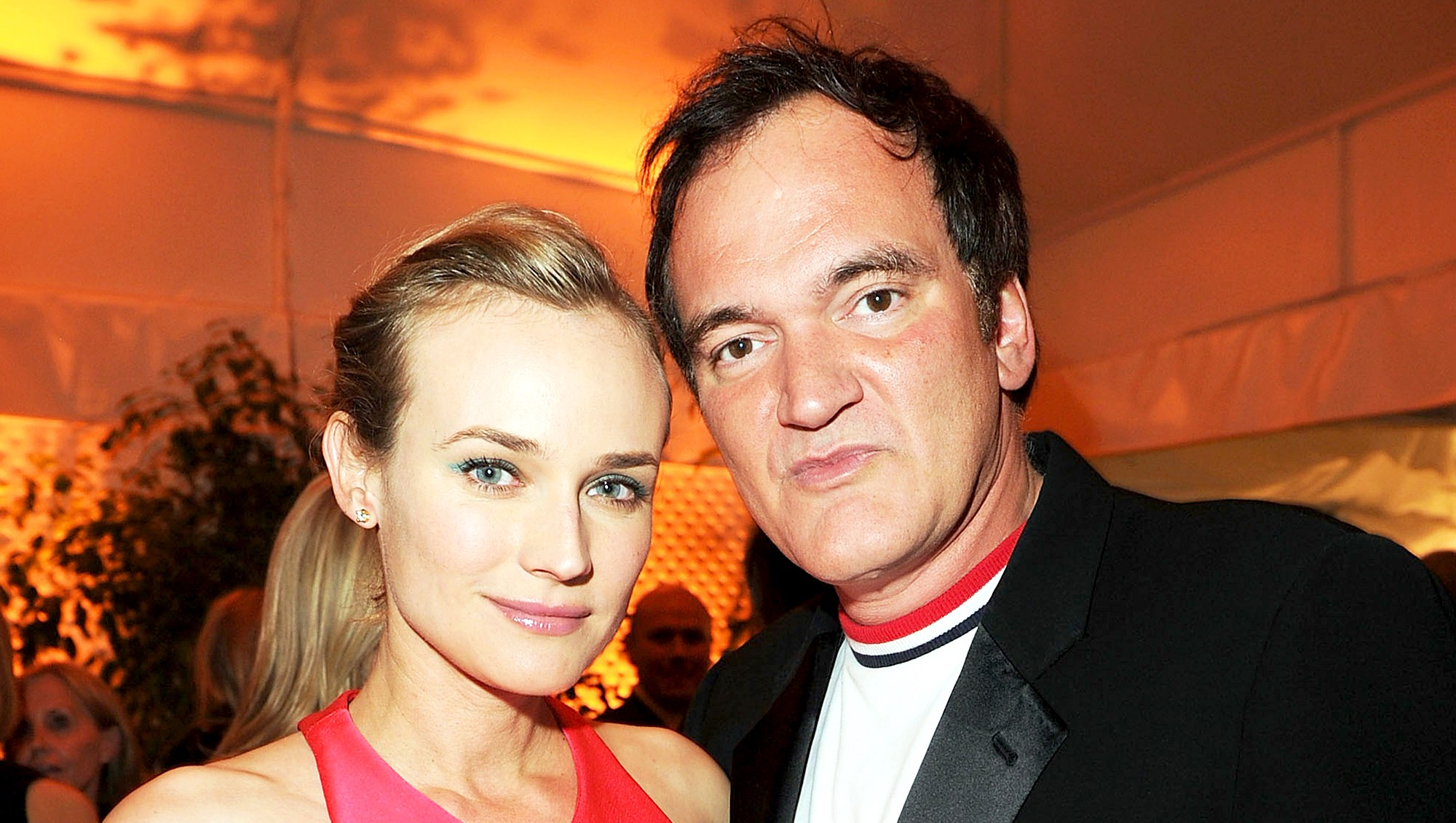 Diane Kruger and Quentin Tarantino attend ELLE's 17th Annual Women in Hollywood Tribute at The Four Seasons Hotel in Beverly Hills, California.