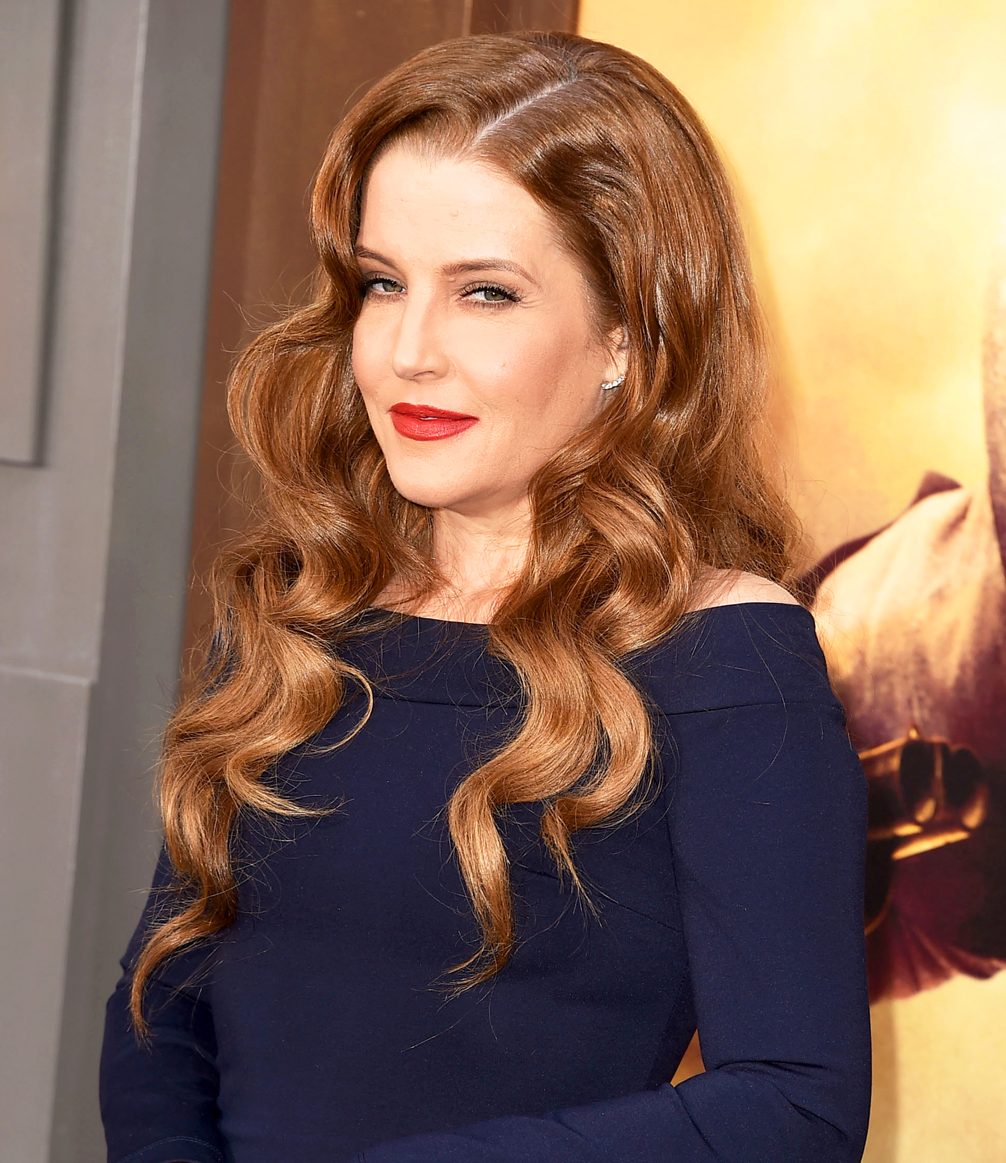 Lisa Marie Presley arrives at the