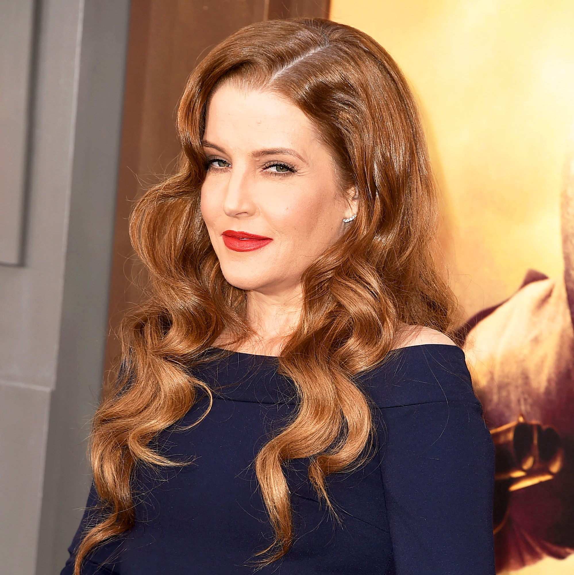 "Lisa Marie Presley arrives at the ""Mad Max: Fury Road"" Los Angeles 2015 Premiere at TCL Chinese Theatre IMAX in Hollywood, California."