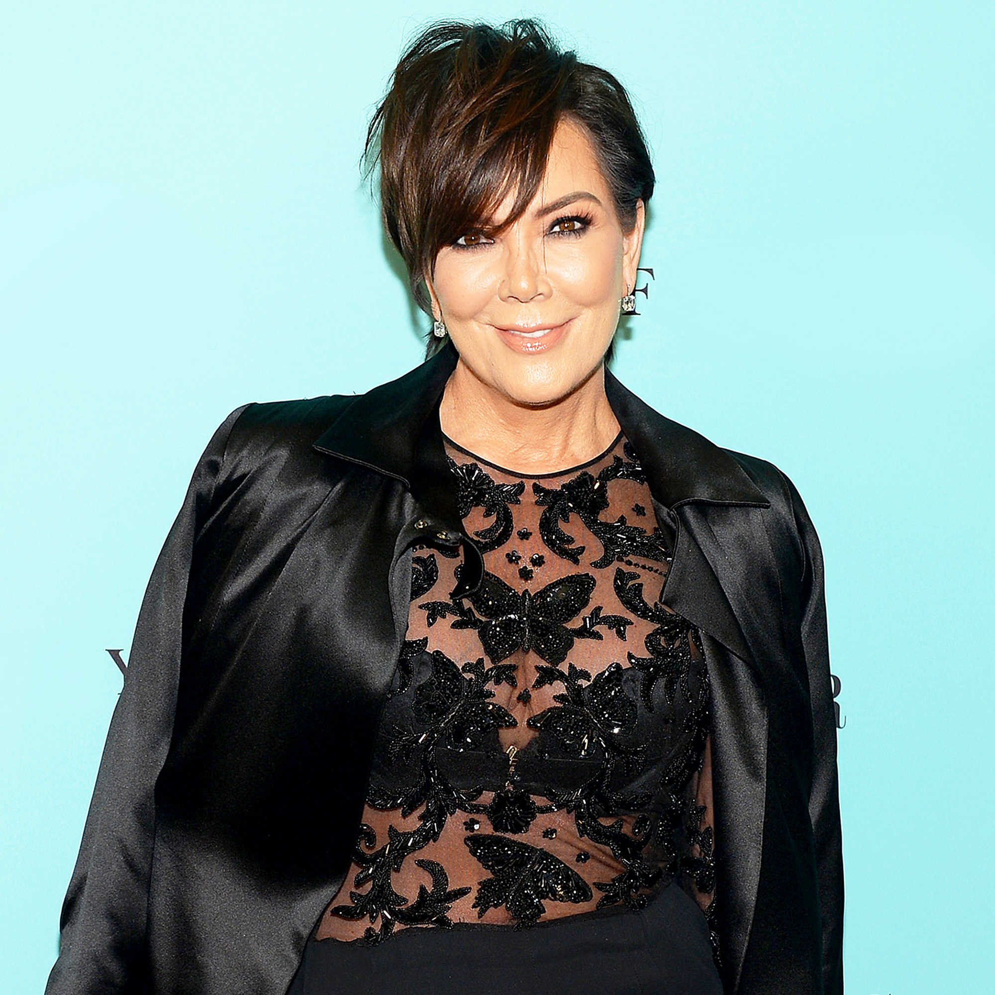 Kris Jenner attends Harper's BAZAAR 150th Anniversary presented with Tiffany & Co at The Rainbow Room in 2017.