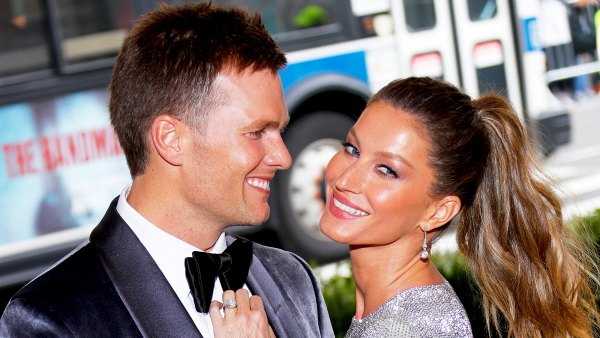 """Tom Brady and Gisele Bundchen attend """"Rei Kawakubo/Comme des Garcons: Art Of The In-Between"""" Costume Institute 2017 Gala at Metropolitan Museum of Art in New York City."""