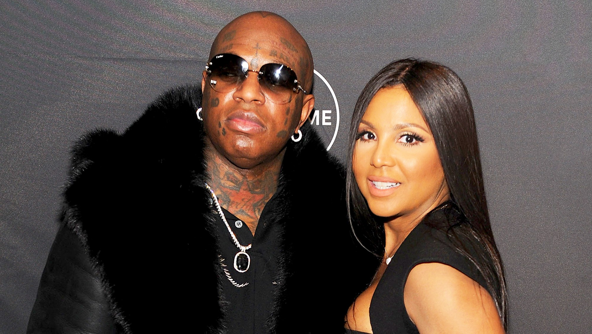 "Birdman and Toni Braxton attends Lifetime""s Film,""Faith Under Fire: The Antoinette Tuff Story"" red carpet 2018 screening and premiere event at NeueHouse Madison Square in New York City."