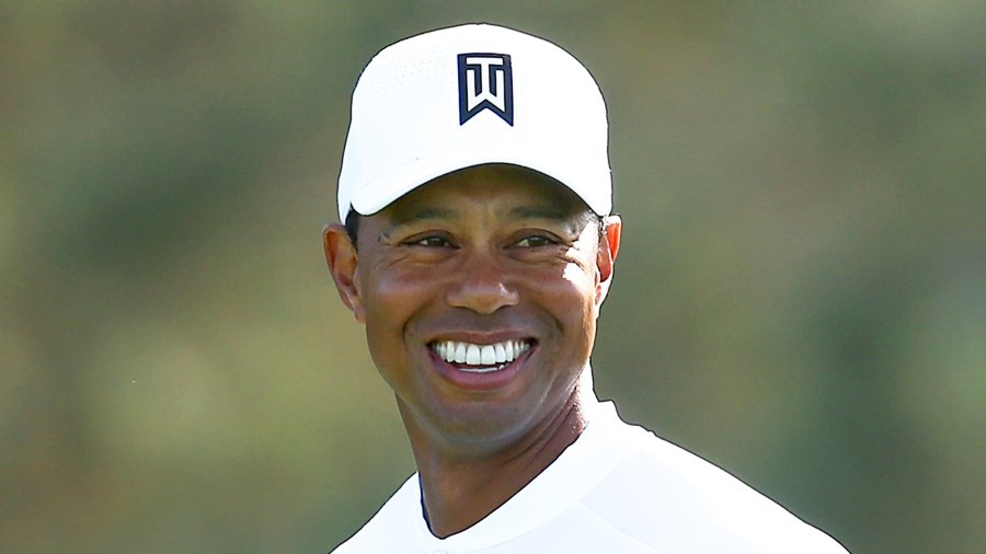 Tiger Woods during the third round of the Farmers Insurance Open at Torrey Pines South on January 27, 2018 in San Diego, California.