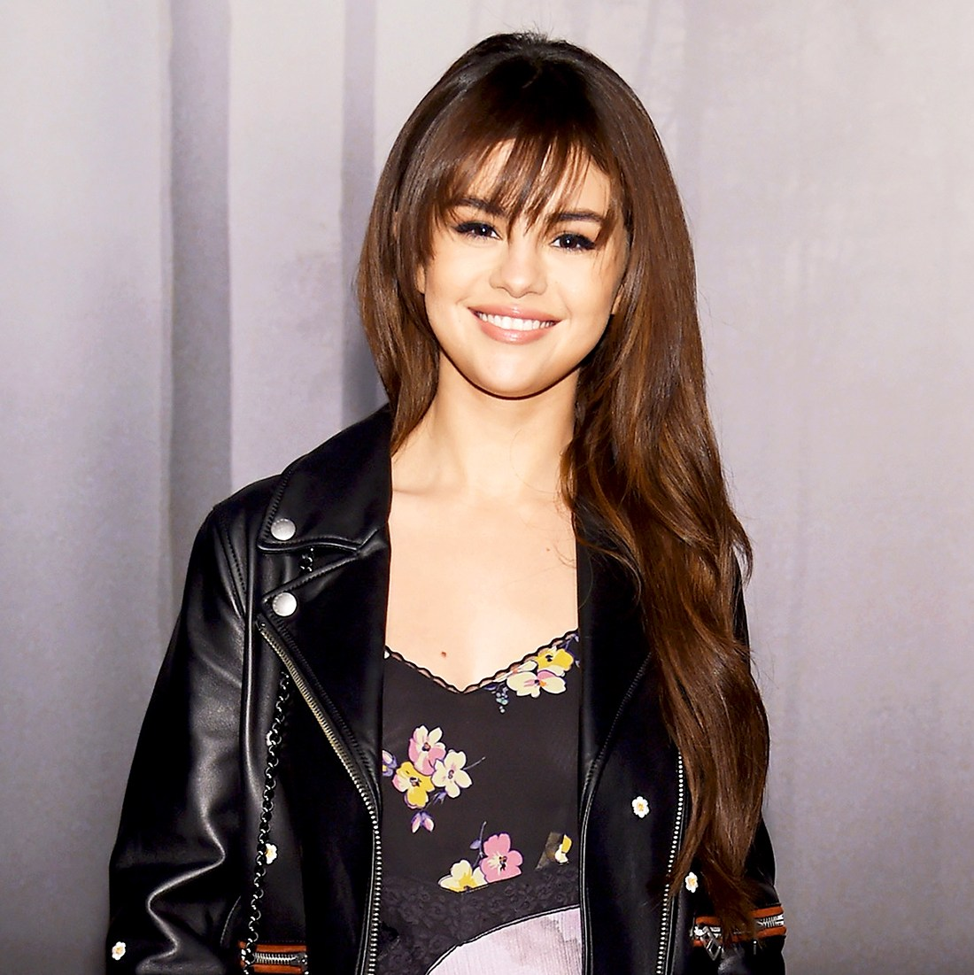 Selena Gomez attends the Coach Fall 2018 Runway Show at Basketball City on February 13, 2018 in New York City.