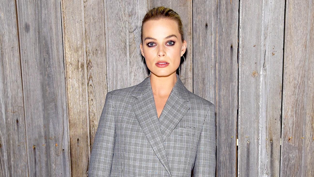 Margot Robbie attends the Calvin Klein Collection during 2018 New York Fashion Week at New York Stock Exchange in New York City.