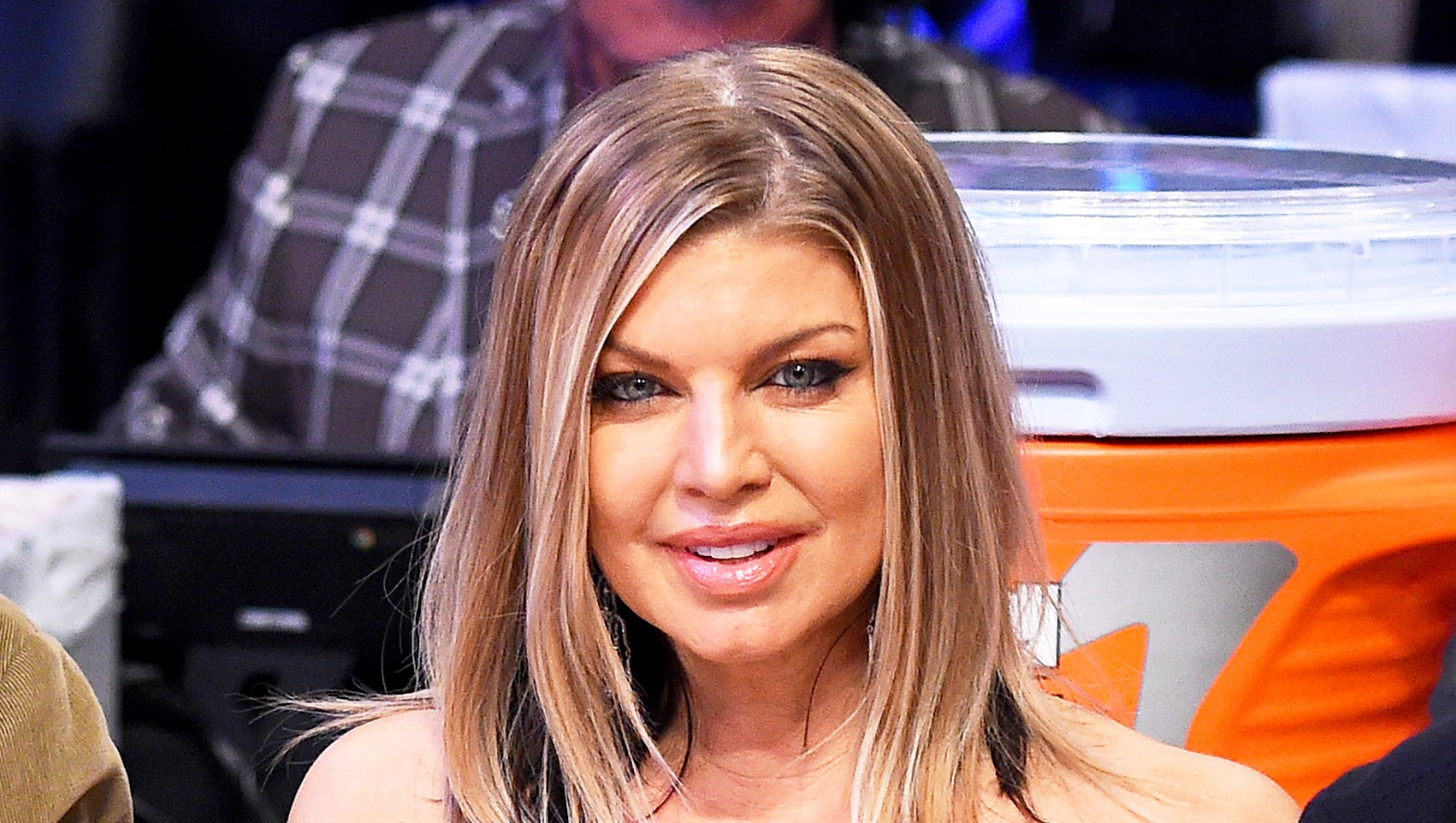 Fergie attends the NBA All-Star Game as a part of 2018 NBA All-Star Weekend at STAPLES Center on February 18, 2018 in Los Angeles, California.