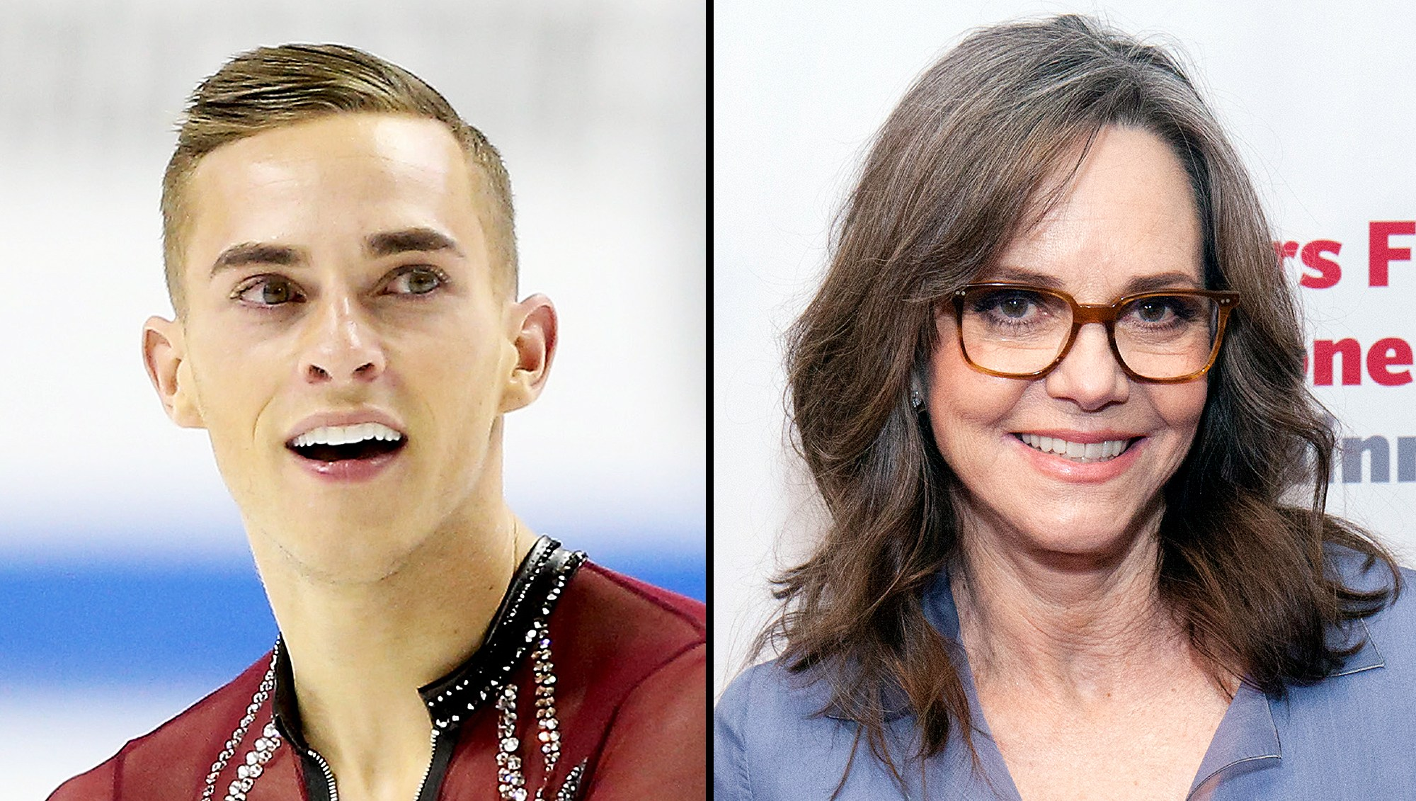 Adam Rippon Sally Field