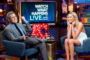andy cohen stassi schroeder watch what happens live zoom - Stassi Schroeder Plays Coy About Her New Beau: 'I'm Bashful'