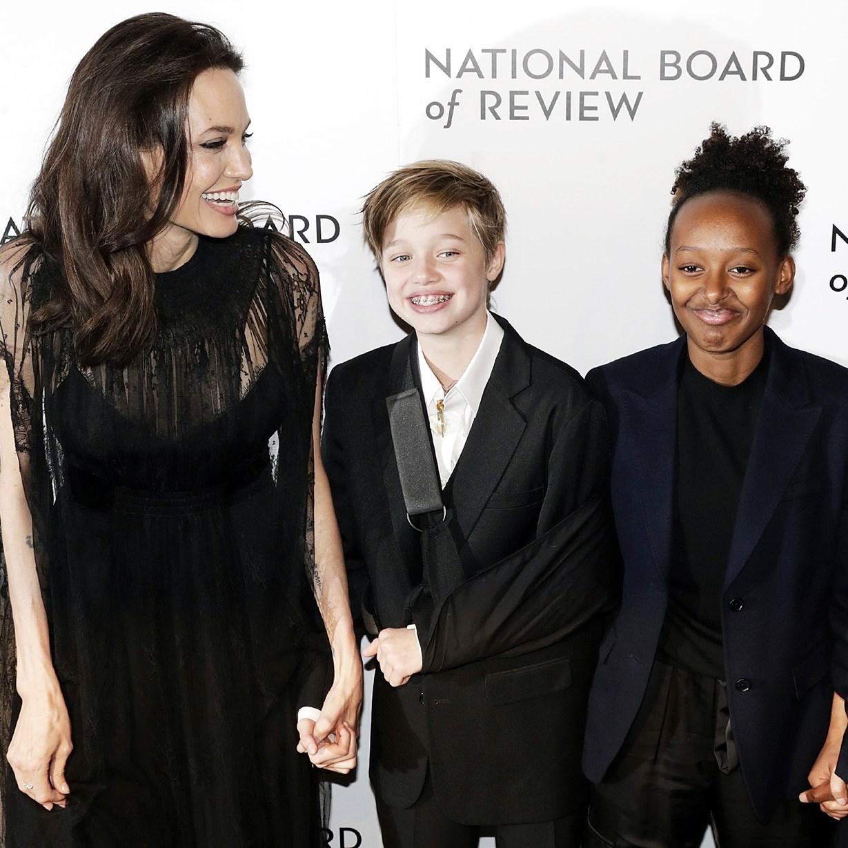 Angelina Jolie Shiloh Zahara