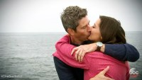 Arie Luyendyk Jr Becca K kissing