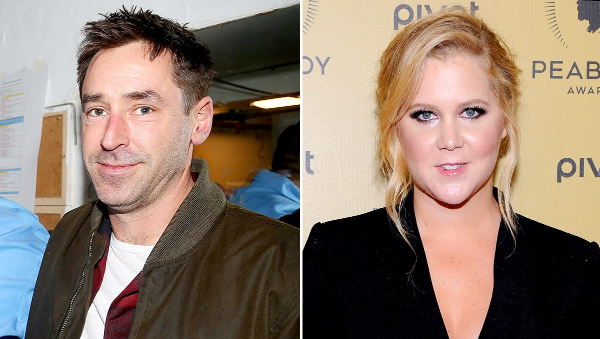 Chef Chris Fischer and Amy Schumer