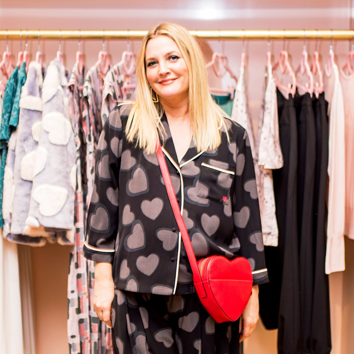 Drew Barrymore attends Dear Drew event on February 14, 2018 in New York City.