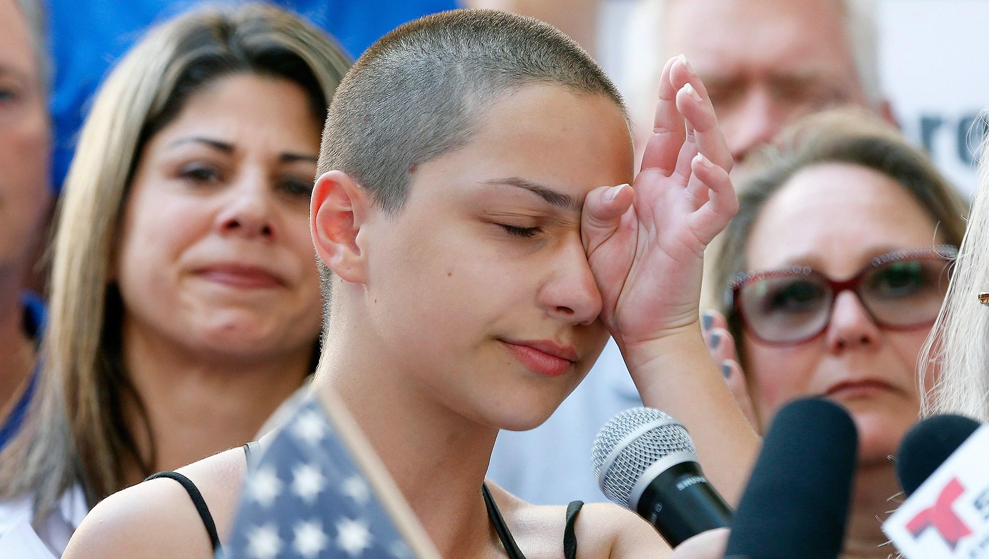 Emma Gonzalez, Gun Control Rally, Marjory Stoneman Douglas High School
