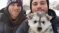 Matt Wilkas Gus Kenworthy dog adoption