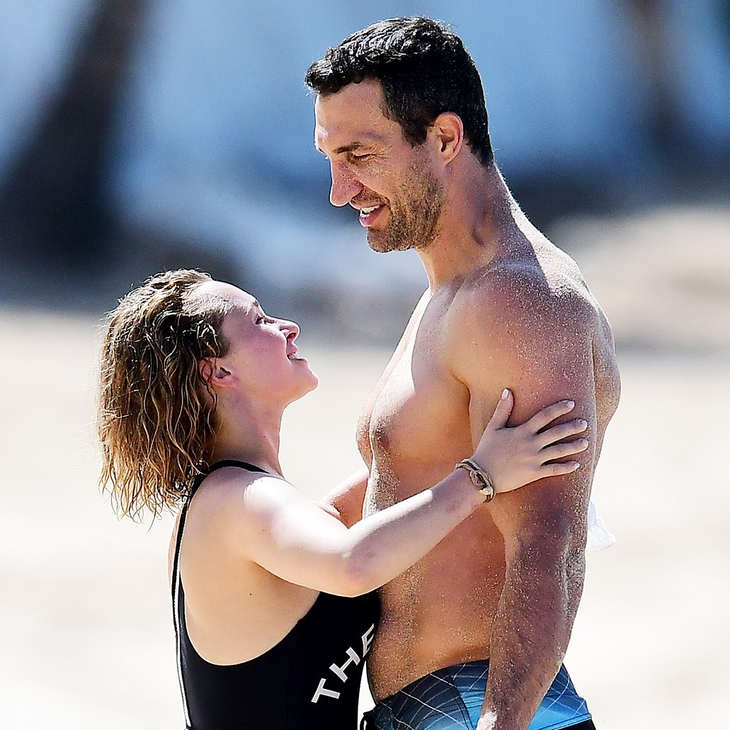 Hayden Panettiere Wladimir Klitschko beach Barbados PDA