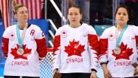 Jocelyne Larocque refuses to wear her silver medal