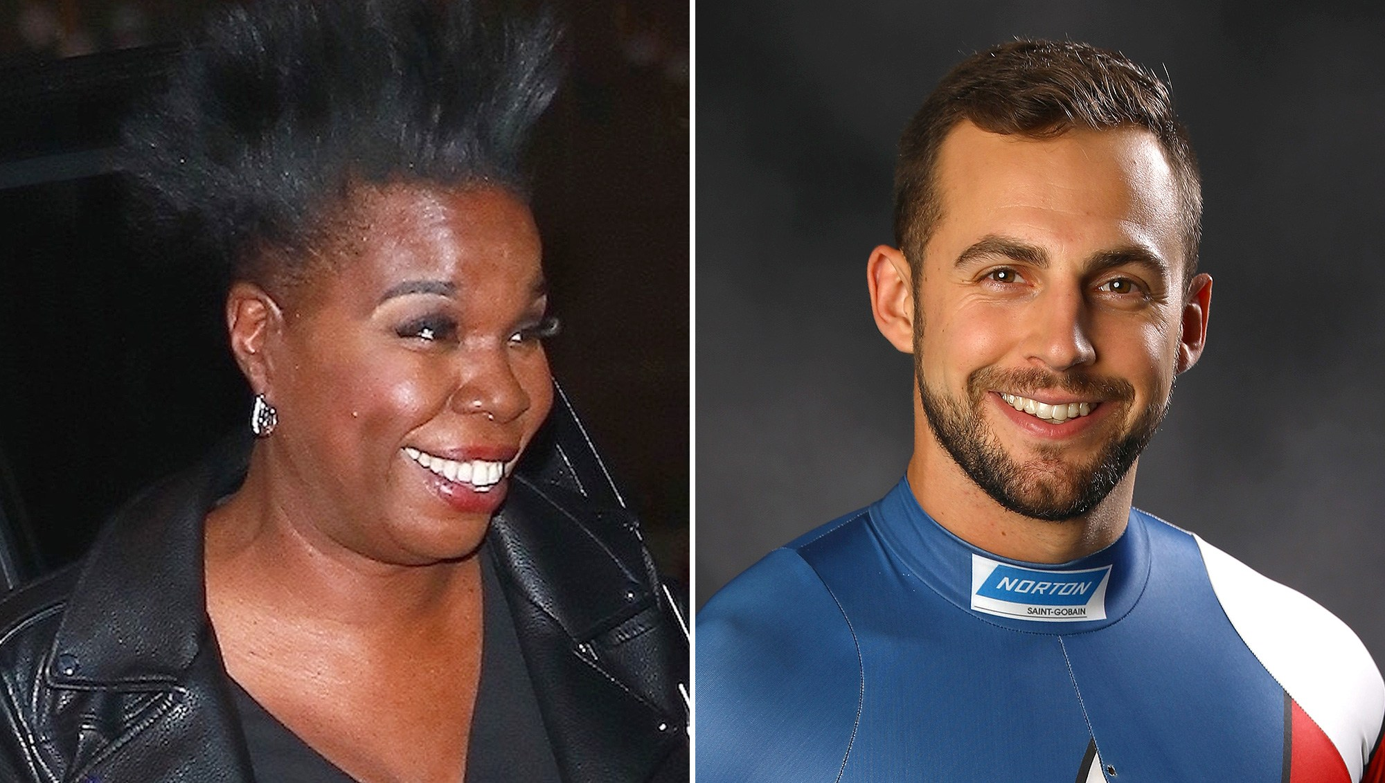 Leslie Jones, Chris Mazder, Olympics, Luge