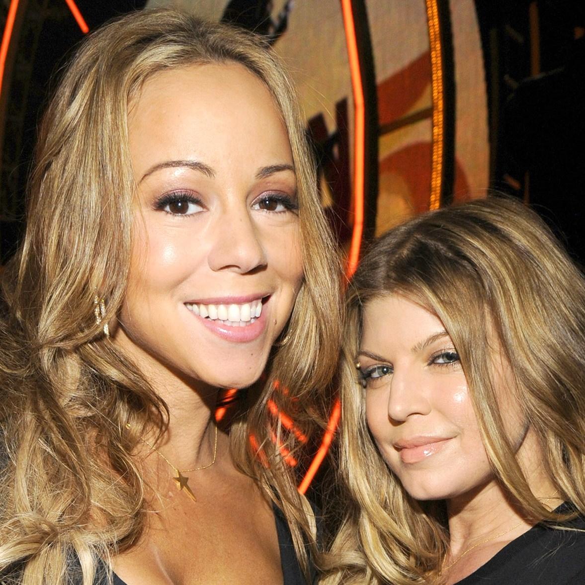 Mariah Carey and Fergie