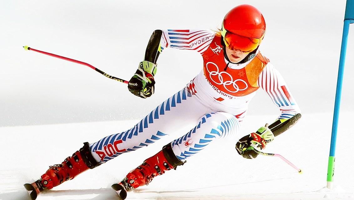 Mikaela Shiffrin gold medal Alpine Skiing Ladies' Giant Slalom