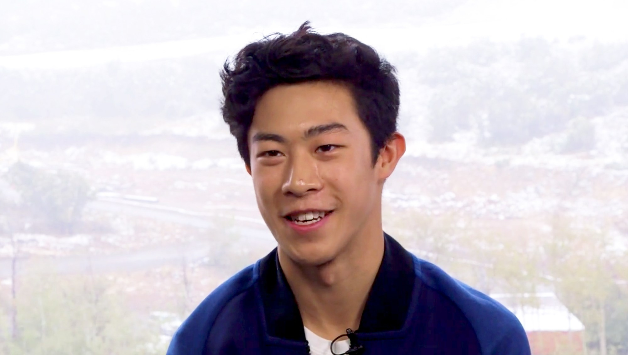 Olympic figure skater Nathan Chen