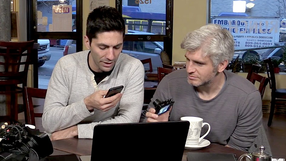 Nev and Max on Catfish