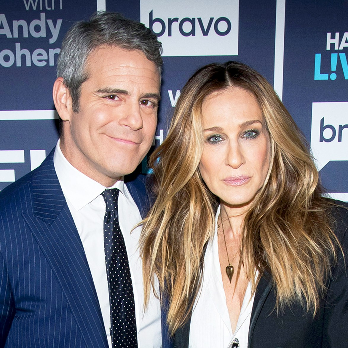 Andy Cohen and Sarah Jessica Parker on 'Watch What Happens Live'