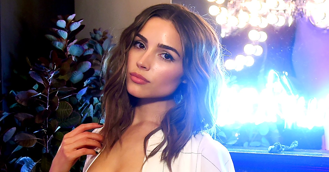 Justine Marjan Olivia Culpo Wave Hairstyle How To Video