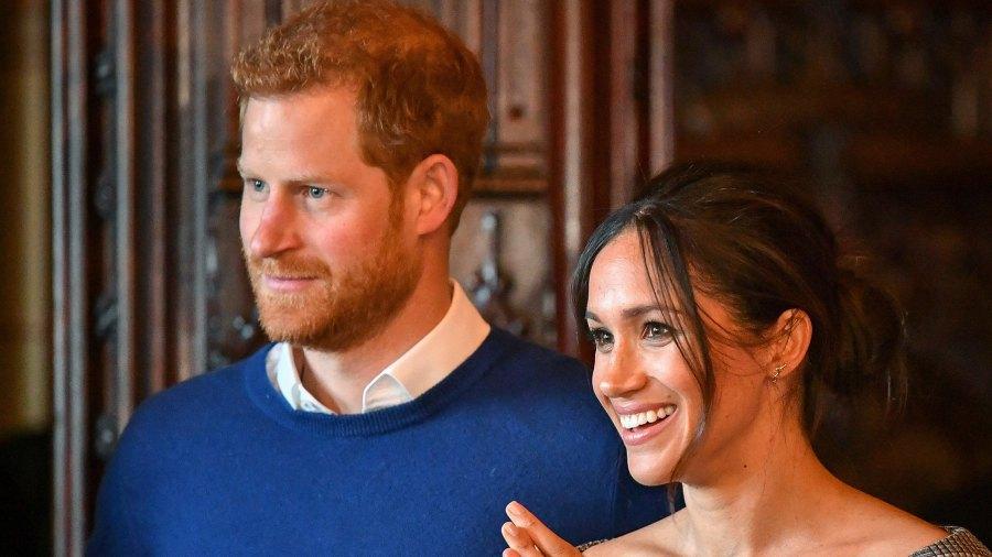 Prince Harry and Meghan Markle hamilton