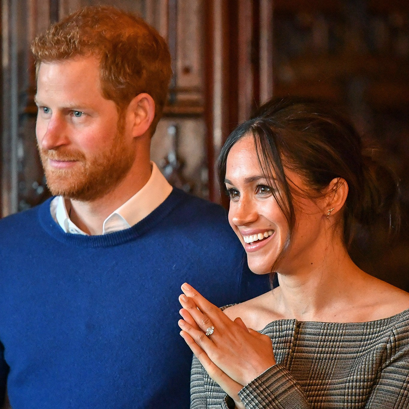 Prince Harry and Meghan Markle hamilton