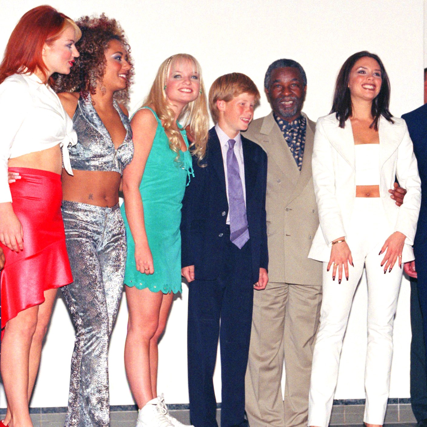 prince harry spice girls wedding