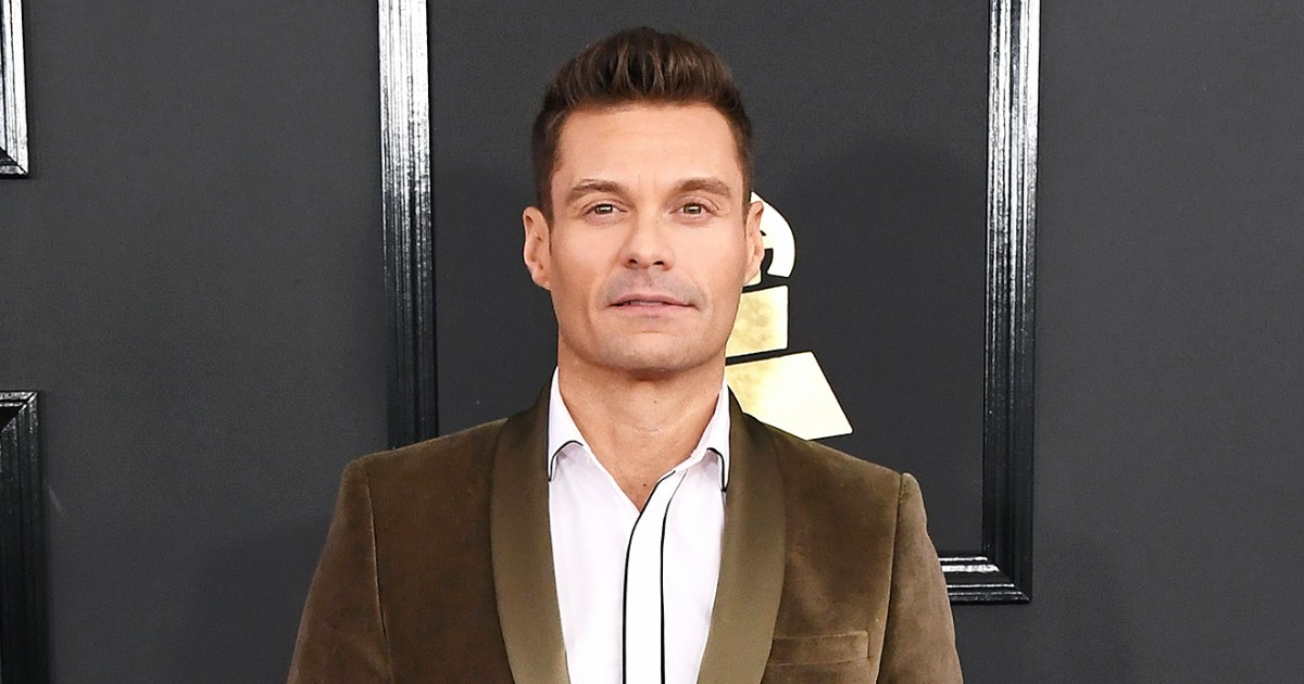 Ryan Seacrest Denies Misconduct Claims By E Stylist