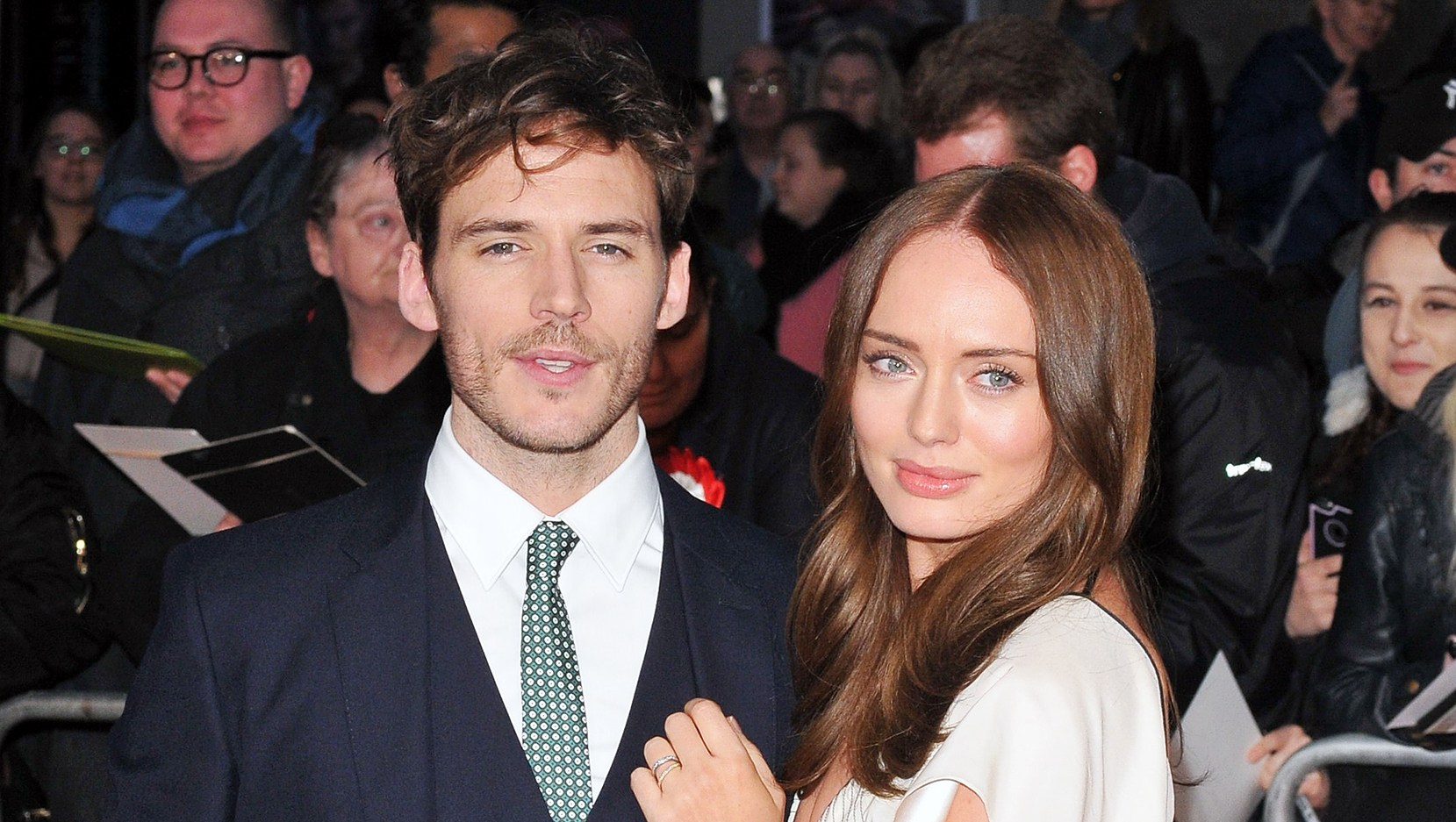 Sam Claflin Laura Haddock Welcome Second Child
